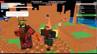 ROBLOX creepers survival