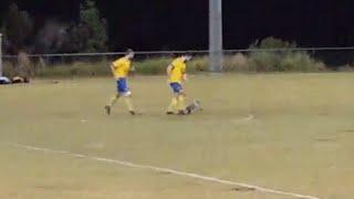 Only in Australia: Koala Runs Onto Field During Soccer Game