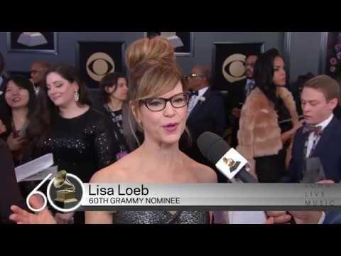 Lisa Loeb | Red Carpet | 60th GRAMMYs