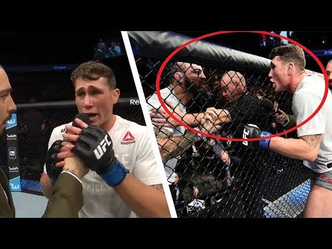 (HEATED ARGUMENT)! DARREN TILL CALLS OUT MIKE PERRY AFTER VICTORY AT UFC GDANSK; MIKE PERRY RESPONDS