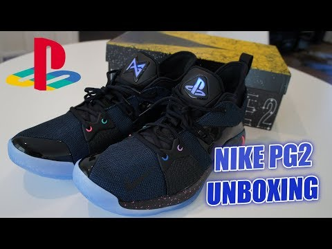 best sneakers 81bbb 5614e Unboxing PG-2 Paul George PlayStation Nike Shoes | Retro ...