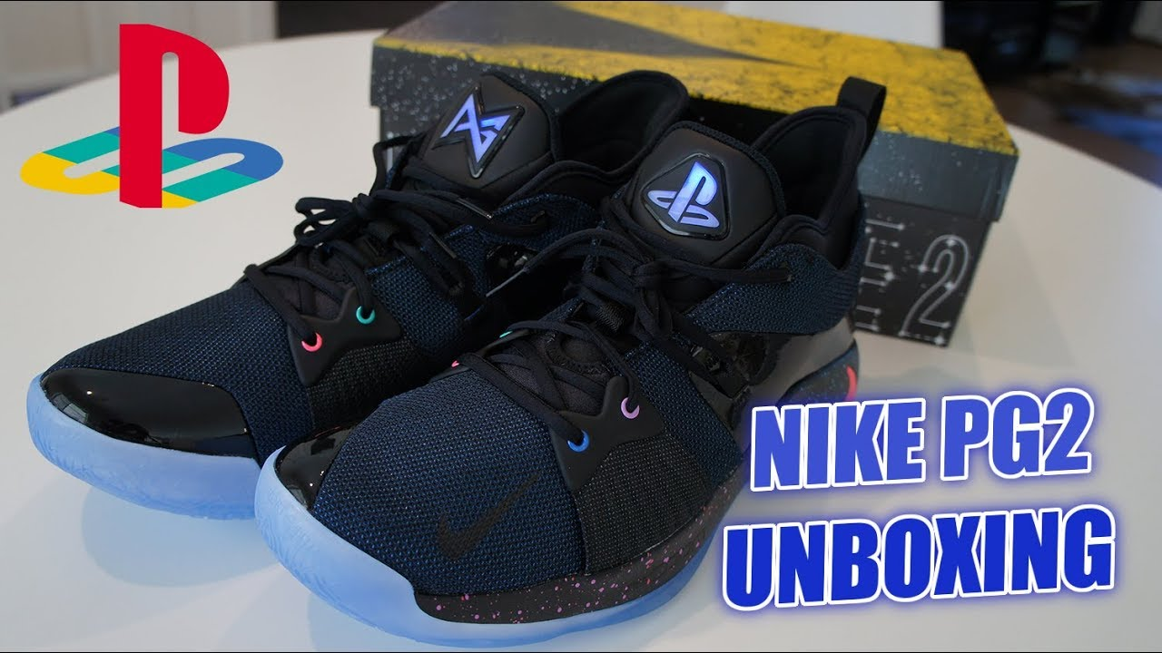 be89c0c95d90 Unboxing PG-2 Paul George PlayStation Nike Shoes