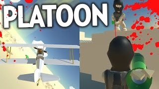 KILL CARTOON/BAZOOKA BUILDINGS | iwan Plays PLATOON ONLINE