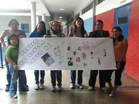 GREETINGS TO XANDER BY XANDERETTES FANS FROM VENEZUELA SOUTH AMERICA