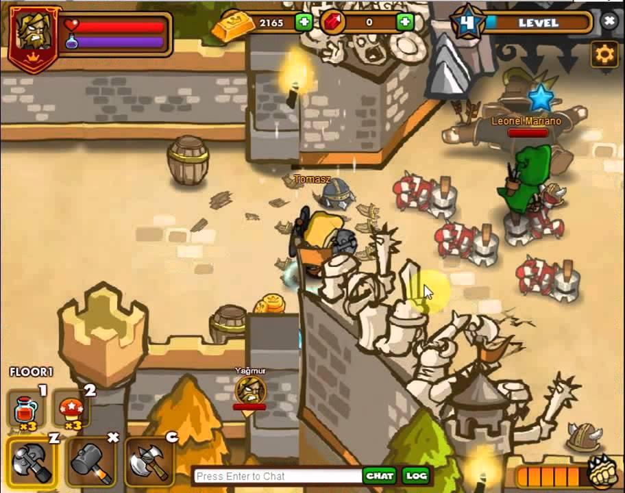Dungeon Rampage Facebook Gameplay 1 Youtube