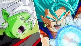 VEGETTO SUPER SAIYAN BLUE VS ZAMASU FUSIÓN - DRAGON BALL XENOVERSE 2