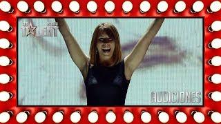 Esta concursante puede dibujar a los jueces con arena | Audiciones 4 | Got Talent España 2018