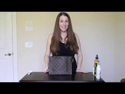 How to fix peeling or stickiness in Louis Vuitton bags and linings.