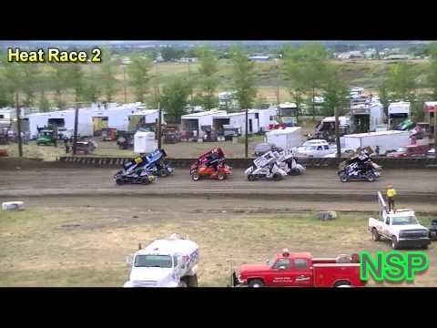 7-16-2012 Ascs Northwest Region Heat Races 1 & 2 Southern Oregon Speedway
