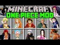 Gambar cover Minecraft ONE PIECE MOD!   EAT DEVIL'S FRUIT, GET SUPERPOWERS, PIRATES!   Modded Mini-Game