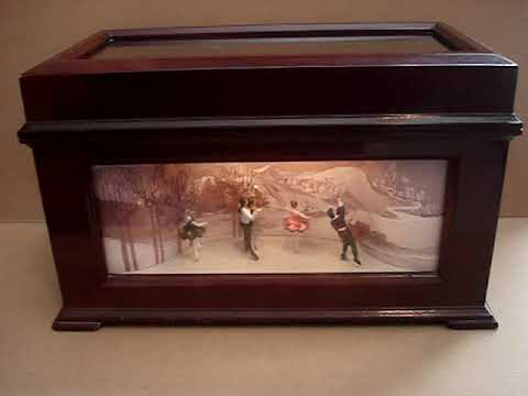 Mr. Christmas Animated Music Box for Sale on EBAY  eBay item number: 264064056941