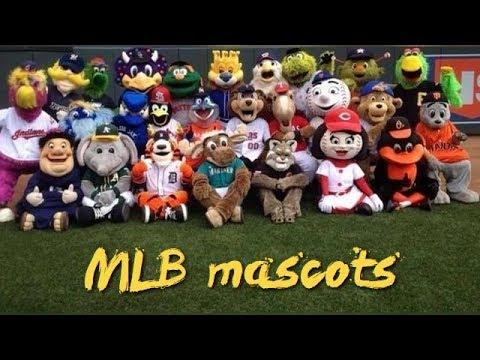 ⚾️ MLB All team mascots - (High Quality | 1080p) ⚾️