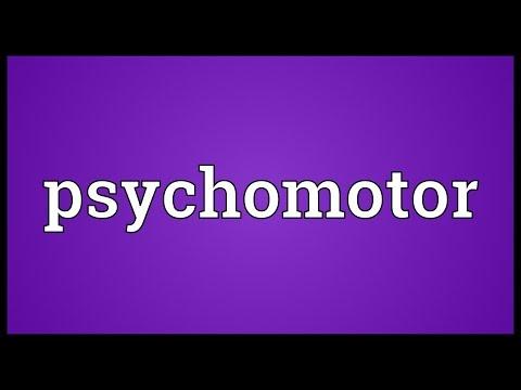Header of psychomotor