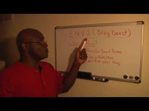 """ENV2 """"Blog Beast"""" Part 1 - Mobile Blogging"""