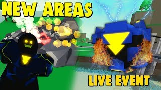 *NEW* VILLAIN EVENT UPDATE, TRAINING AREAS & HIGHLIGHTS! (POWER SIMULATOR ROBLOX)