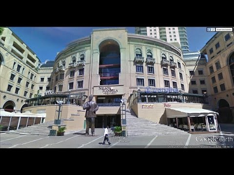 Johannesburg Metro by Google Earth