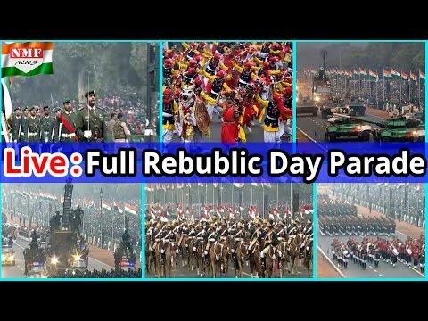 LIVE: Republic Day Full Parade 2017, पूरी दुनिया में बजा India की ताकत का डंका