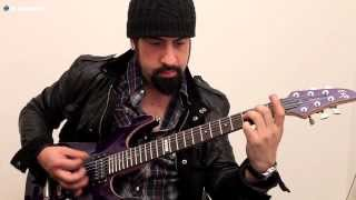 "Rob Caggiano (Volbeat) creates his ""Bullseye"" TonePrint"