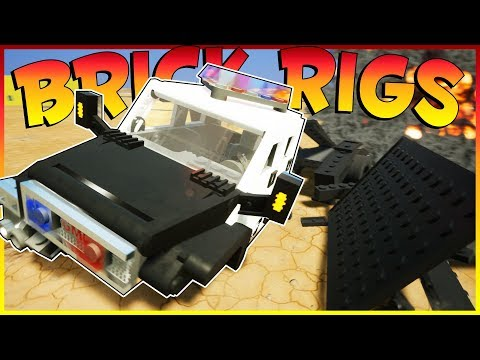 Brick Rigs Game   COPS AND ROBBERS!   Brick Rigs Gameplay Multiplayer - COPS AND ROBBERS CHALLENGE!