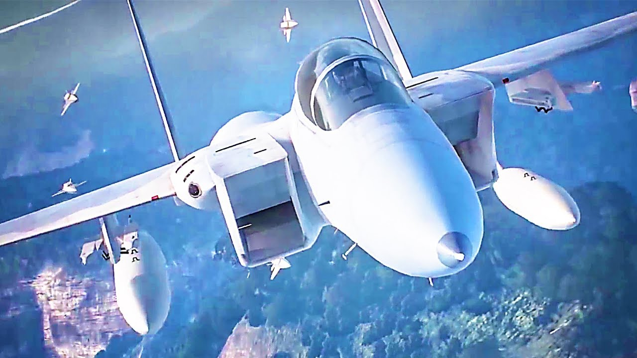 ACE COMBAT 7 Skies Unknown Bande Annonce de Gameplay (2018) PS4 / Xbox One / PC