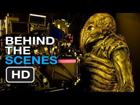 Prometheus Blu-Ray - Behind The Scenes (2012) Ridley Scott Movie HD