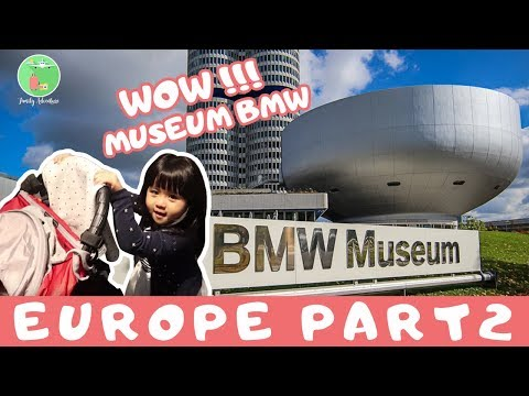 EUROPE VLOG Part.2: Liat Museum BMW bareng Munel yuk! (GIVEAWAY ALERT)