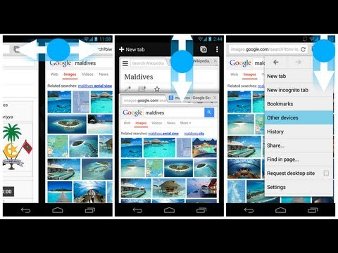 New Swiping Gestures For Google Chrome On Android!