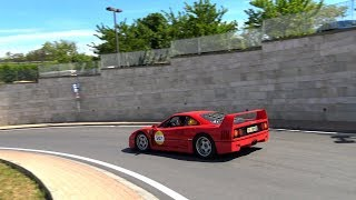 Ferrari Tribute to Mille Miglia 2019 - Full Throttle Accelerations!