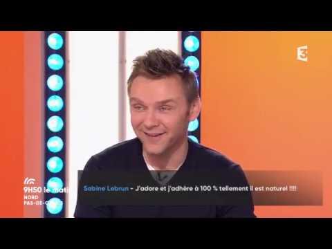 Jeanfi Janssens était en direct sur France 3 dans les Hauts-de-France !