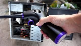 Аккумуляторный компрессор видео