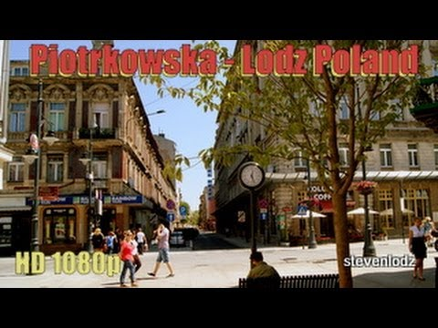 New Piotrkowska - Tourist attraction in the city of Lodz