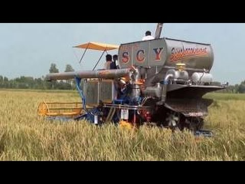 #Amazing World Amazing Modern Agriculture Equipment and Mega Machines: Bizarre Asian Harvesters and