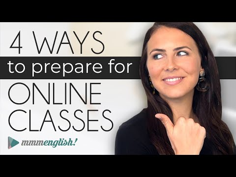 4 Ways To Prepare For Online Lessons!   ?? How to be a better online student