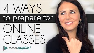 4 Ways To Prepare For Online Lessons! | 🤓 How to be a better online student