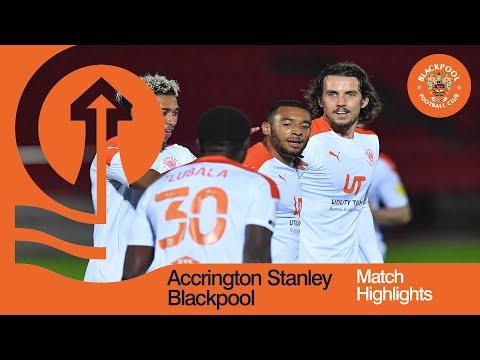 Accrington Blackpool Goals And Highlights