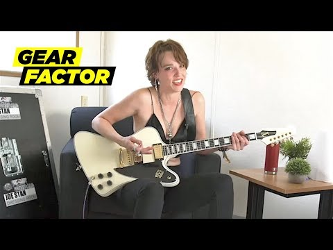 None - Check Out Lzzy Hale From Halestorm Playing Her Favorite Riffs