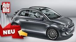 Fiat 500e (2020): Neuvorstellung - Elektroauto - Info - Leistung - deutsch