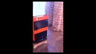 Твердотопливный котел Витязь 17,5 кВт серии Тайга. Обзор и отзыв от покупателя