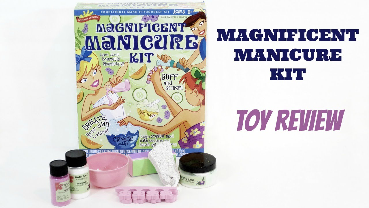 Scientific explorer magnificent manicure kit toy review youtube scientific explorer magnificent manicure kit toy review solutioingenieria Gallery