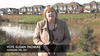 Susan Thomas, November 19, 2011 Surrey City elections
