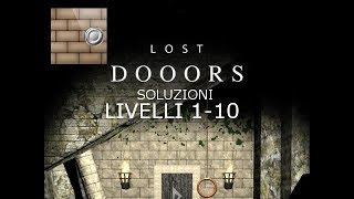 Soluzioni Lost Dooors Walkthrough livelli 1-10 levels 1-10