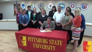 Pitt State receives Laura Bush 21st Century Library Grant