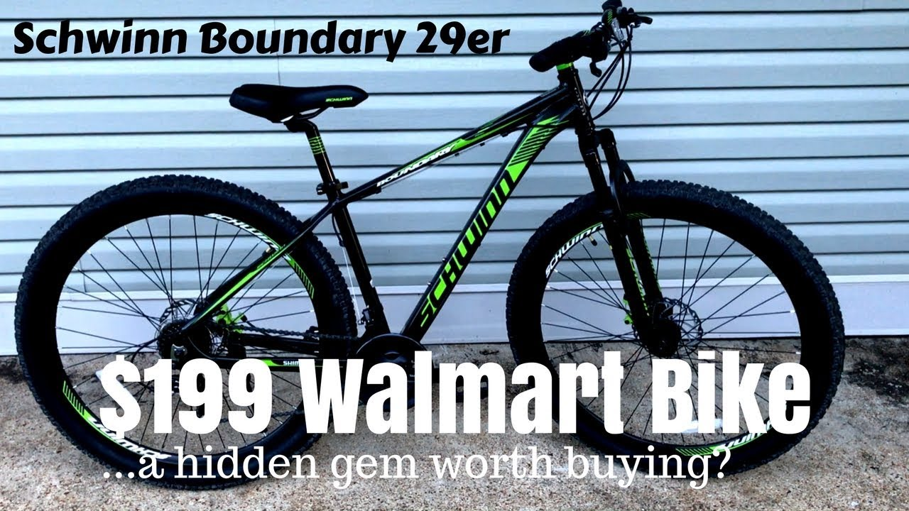 b98ca668064 $199 Walmart Schwinn Boundary 29er - A cheap mountain bike that works?
