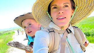 SHAYTARDS TREKKING ACROSS THE PLAINS!