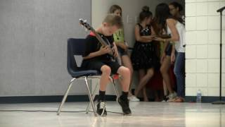 9 Year Old Plays Metallica