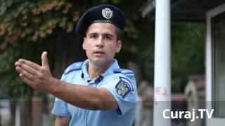 Curaj.TV - Jandarmeria română intimidează protestatarii pașnici