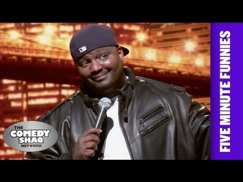 Aries Spears⎢Be Excited for Barack Obama!⎢Shaq's Five Minute Funnies⎢Comedy Shaq