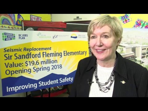 Seismic replacement for Sir Sandford Fleming Elementary School
