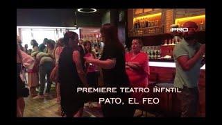 Premiere obra teatro Pato, el feo.
