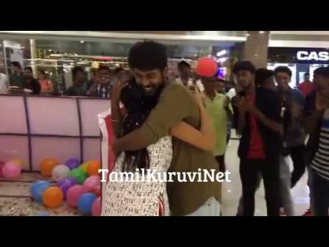 VJ Rio Raj Surprises His Fiancé Sruthi Birthday | Saravanan Meenatchi Actor Family